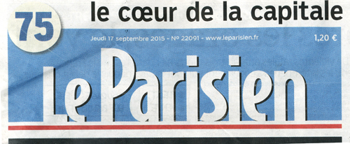le parisien entete